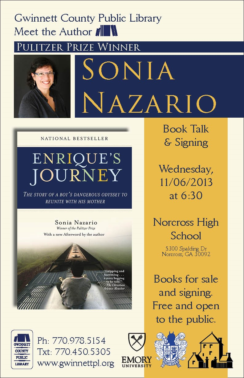 Meet the Author - Sonia Nazario